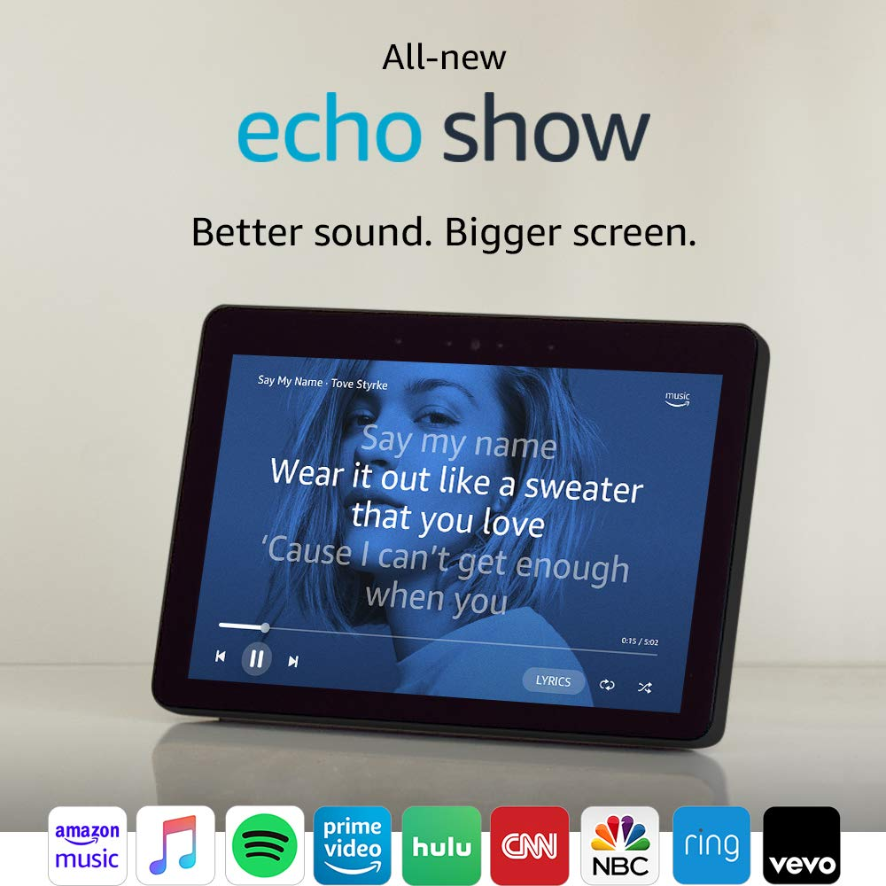 An Echo Show 2nd Generation
